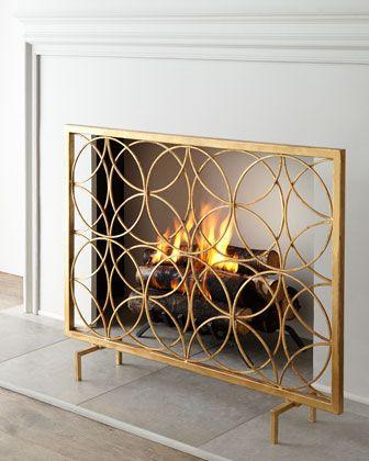 Venn Circles Fireplace Screen at Neiman Marcus. | Home Details ...