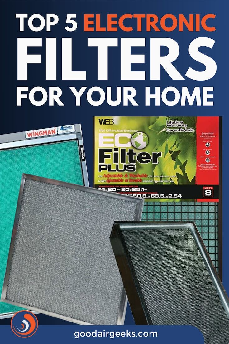 Top 5 Electronic Filters For Your Home Electronic air