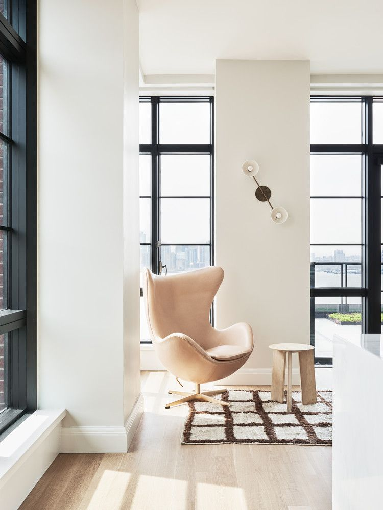minimalist nyc home with great views for young family architecture rh pinterest com