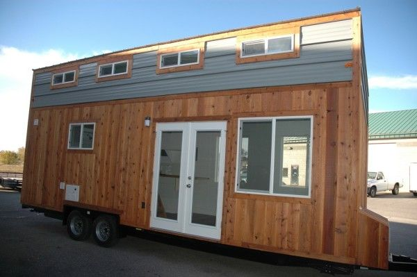 26 u2032 tiny house rv with shed style roof by tiny idahomes dream rh pinterest com