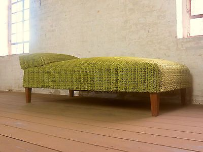 60s 70s mid century daybed chaiselongue chaise sofa bed recamiere rh pinterest com