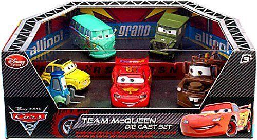 disney pixar cars 2 movie exclusive die cast car 6pack playset rh pinterest com