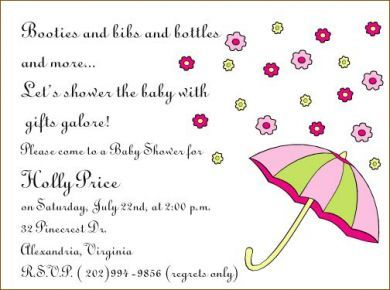 Welcome Baby Shower Invitation Wording Ideas Showers For Babies - Baby girl shower invitation wording