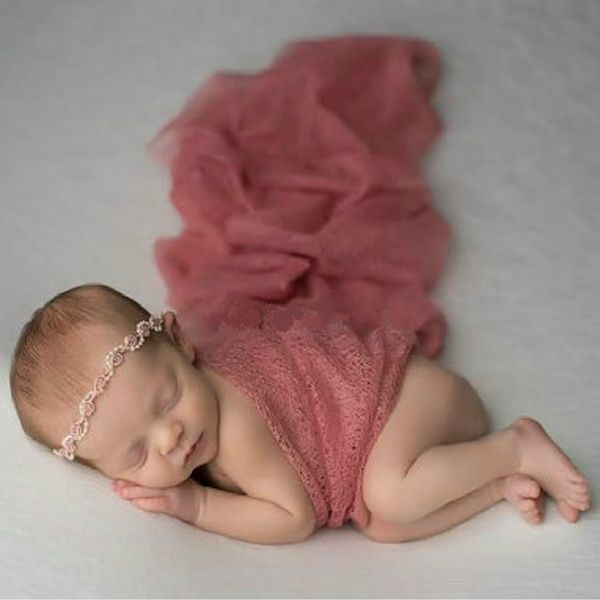 Photo of Newborns Hollow Photography Props Wrapped Towel