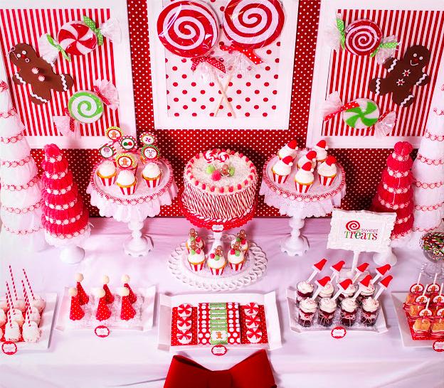 La decoraci n de mis mesas fiestas de cumplea os fiesta for Decoracion de mesa navidena