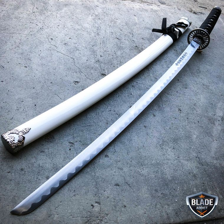 Bushido Samurai Katana Sword Ninja Weapon w Martial Arts Scabbard Equipment Gear