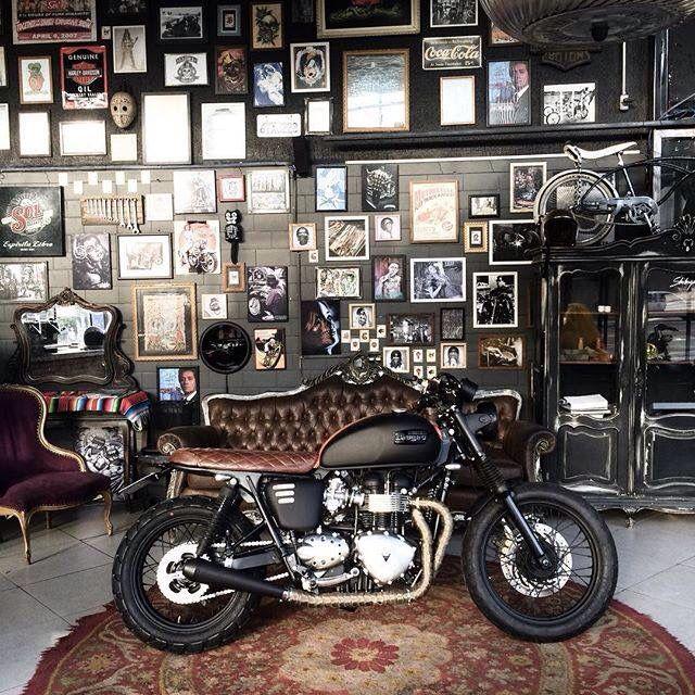 idee de garage voiture moto avec design