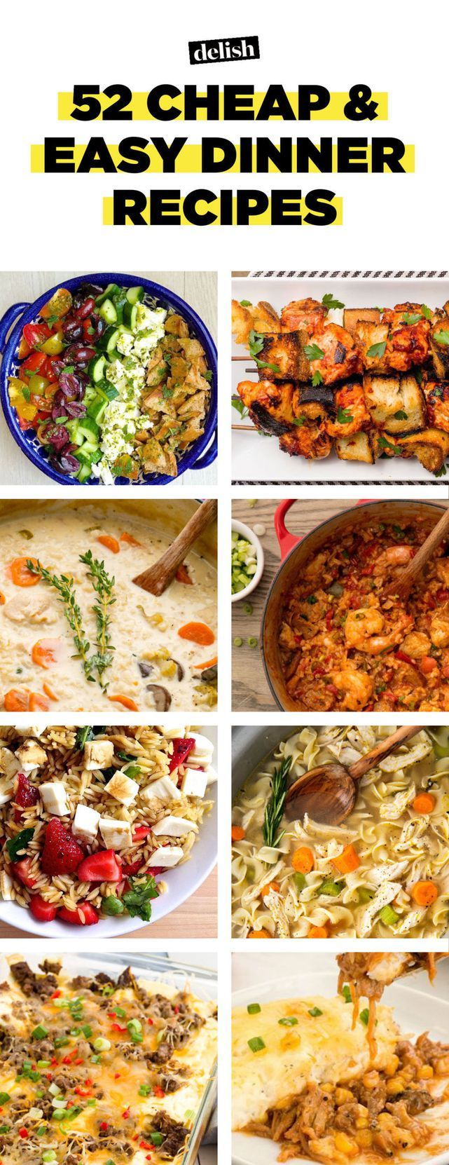 70+ Cheap And Easy Dinner Recipes So You Never Have To Cook A Boring Meal Again images