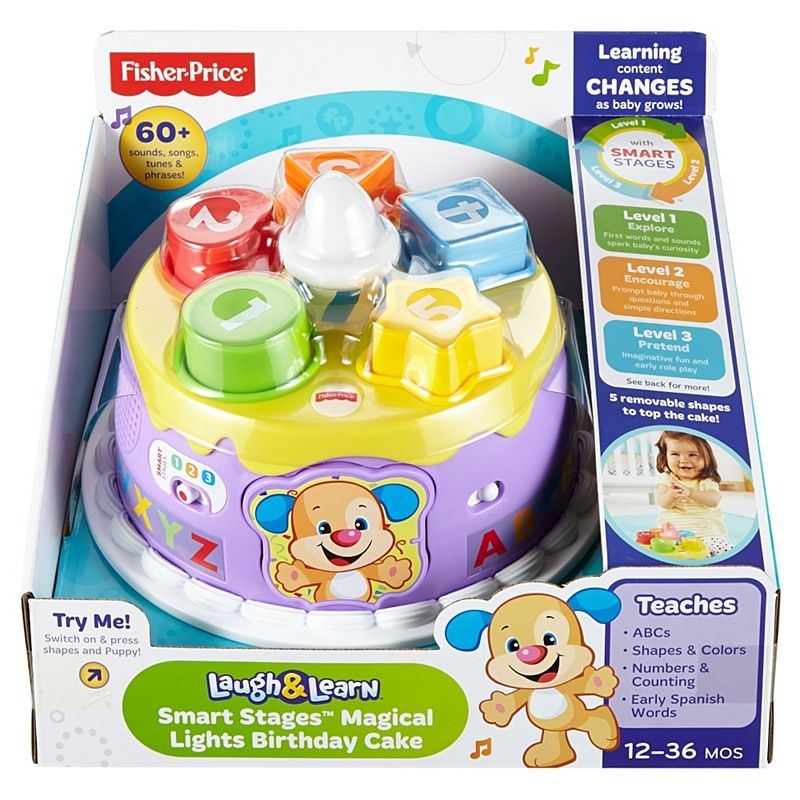 Laugh   Learn® Smart Stages™ Magical Lights Birthday Cake  c74ad4f397