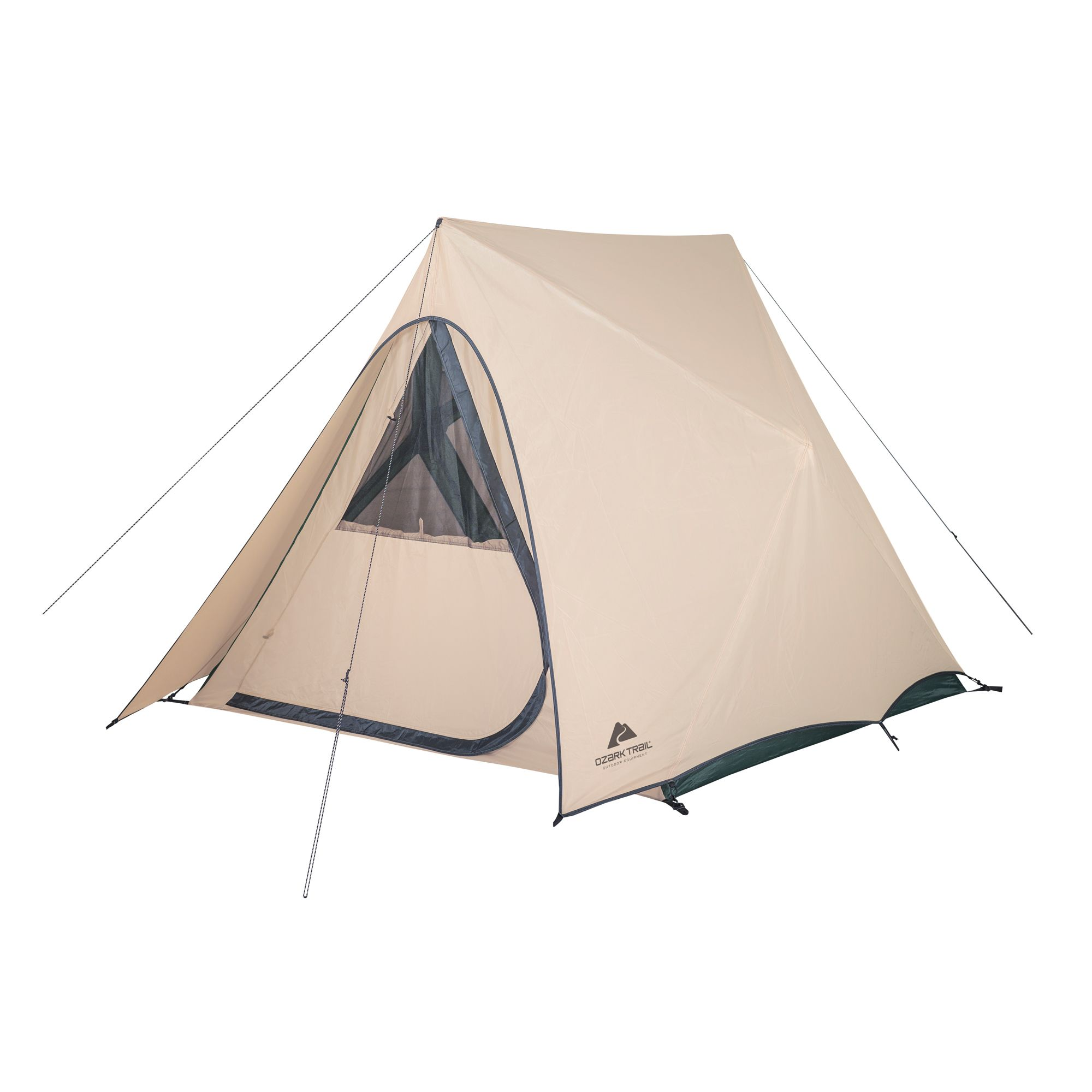 Ozark Trail 7-Person Teepee Tent without Center Pole Obstruction for Camping