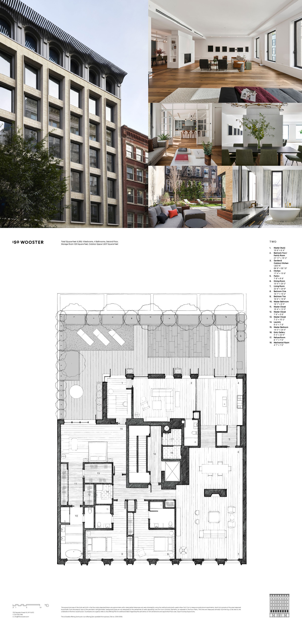 150 Wooster St Loft 2 New York Ny 10012 Core Real Estate Penthouse Apartment Floor Plan Loft Floor Plans Luxury Loft