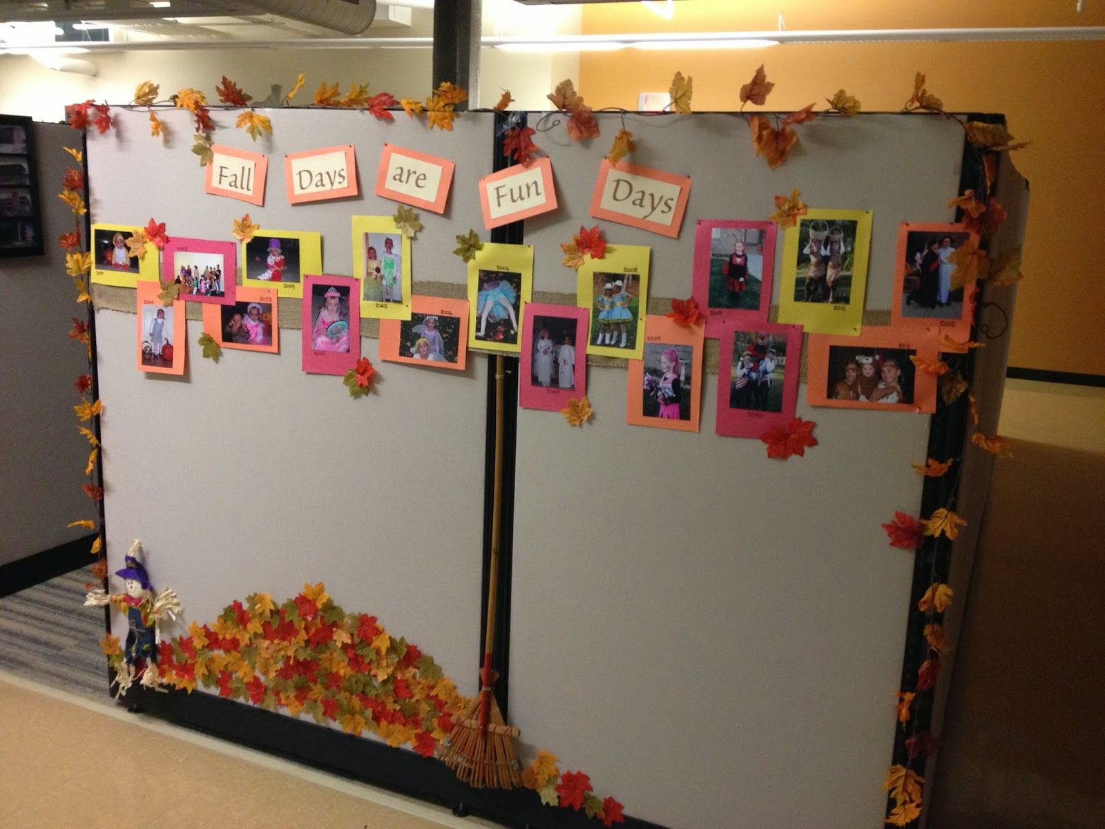 fall cubicle decorating contest | the good stuff guide | all