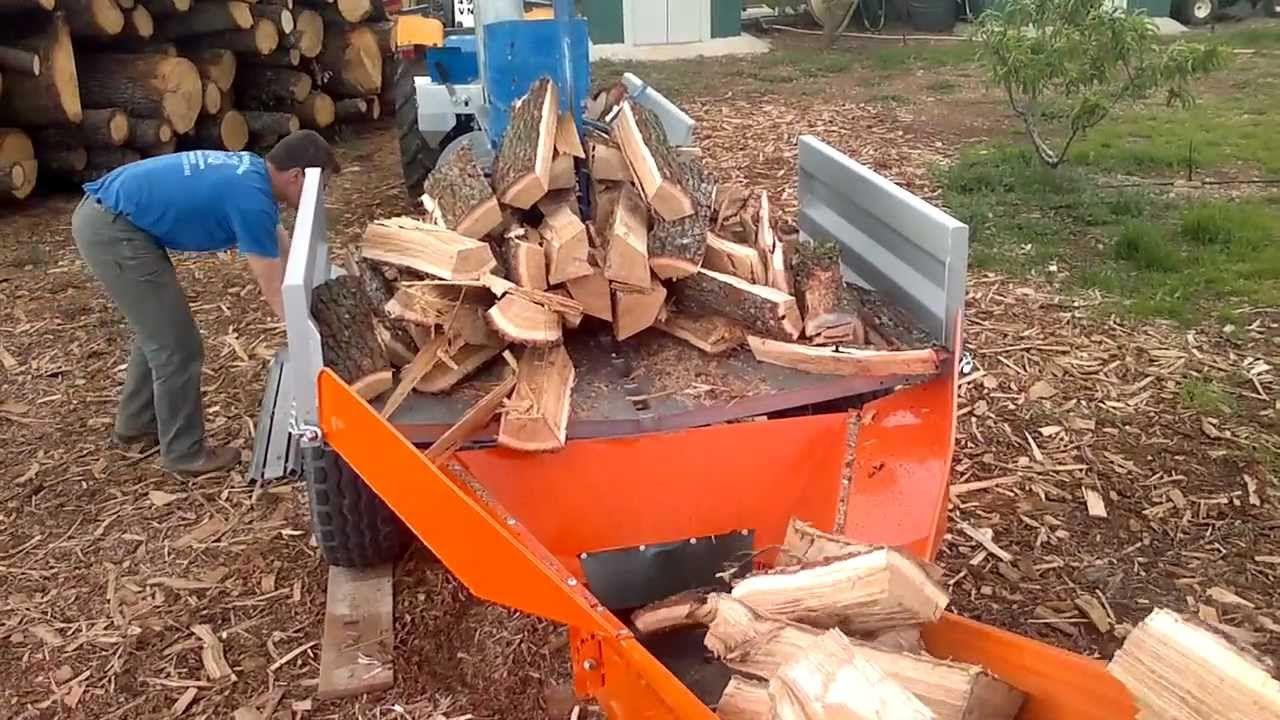 Fendeuse Binderberger 40 Tonnes Wood Splitter Firewood Processor Log Splitter