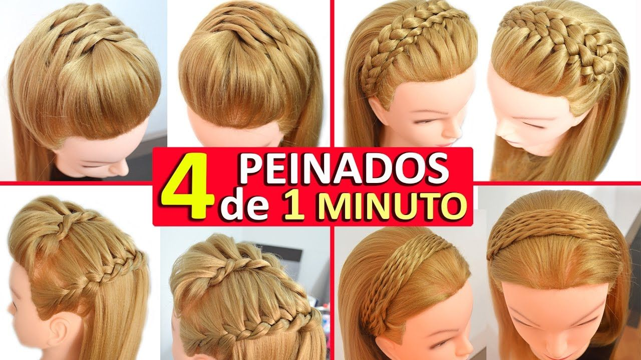 Peinados recogidos con trenzas casuales