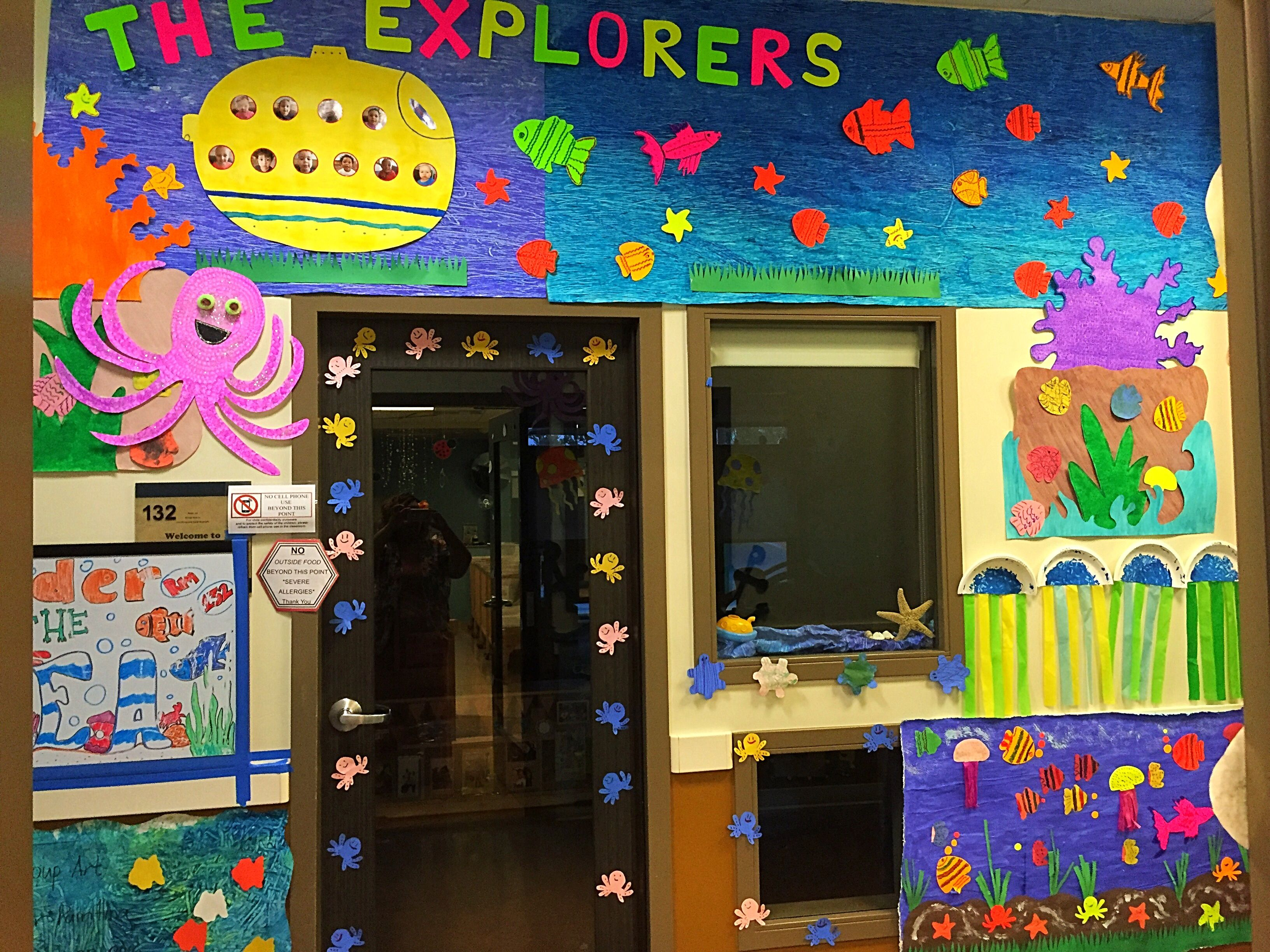 The Explores Pwcdc S Under The Sea Door Decoration Contest