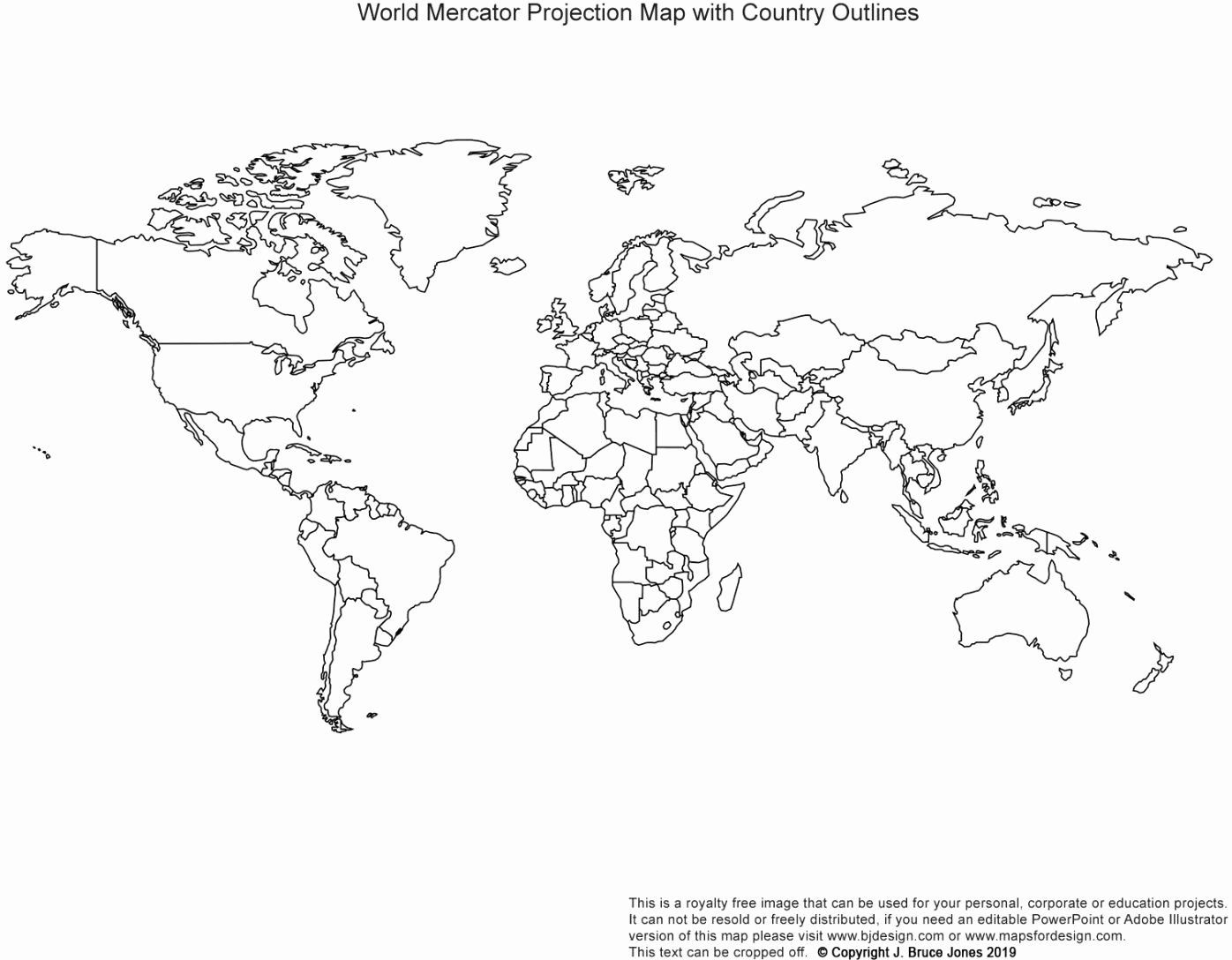 World Map With Countries Coloring Page In 2020 World Map