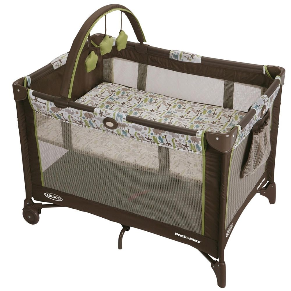 Graco Pack N Play On The Go Travel Play Yard Zoofari Graco Pack N Play Pack N Play Pack And Play