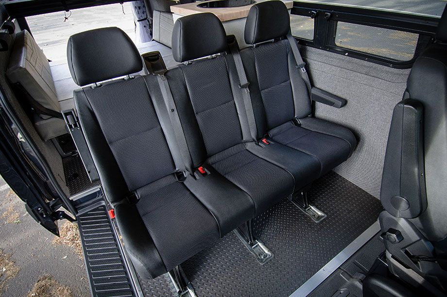 Removable 3 Person Bench Seat Outside Van Vans Van Home
