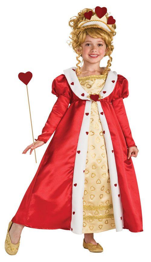 Girls Red Heart Princess Costume Kaylyn Pinterest Princess - princess halloween costume ideas