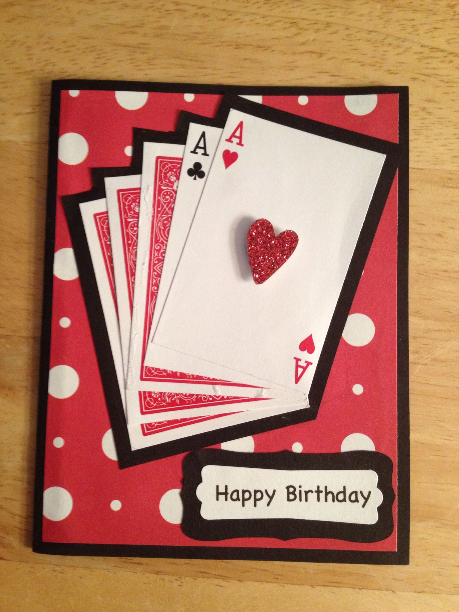 Birthday card inside dont worry you still have a full