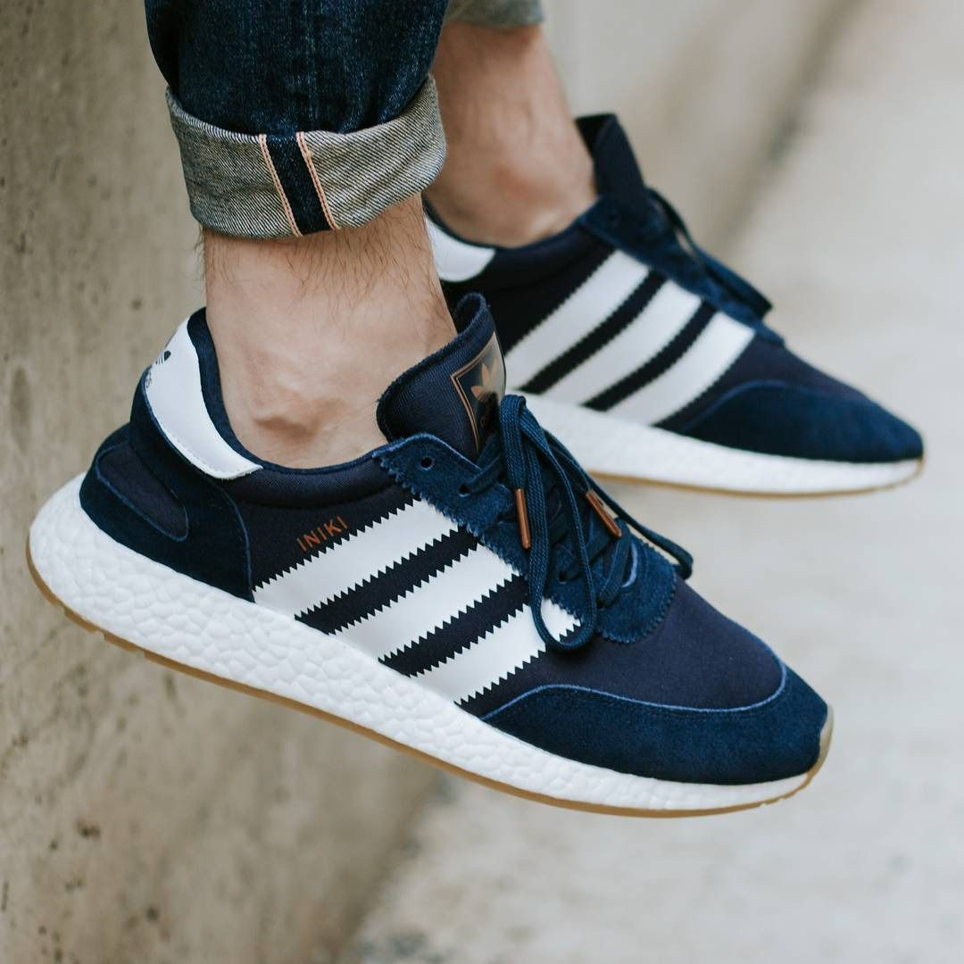 Adidas Iniki Runner Boost Collegiate Navy 2017 (by