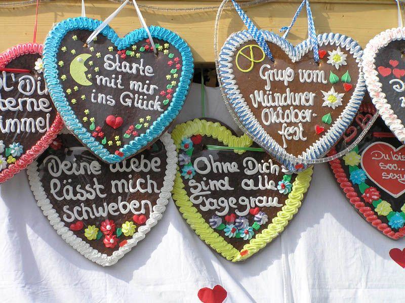 Oktoberfest Gingerbread Hearts Hungrylittlegirl Kid Things