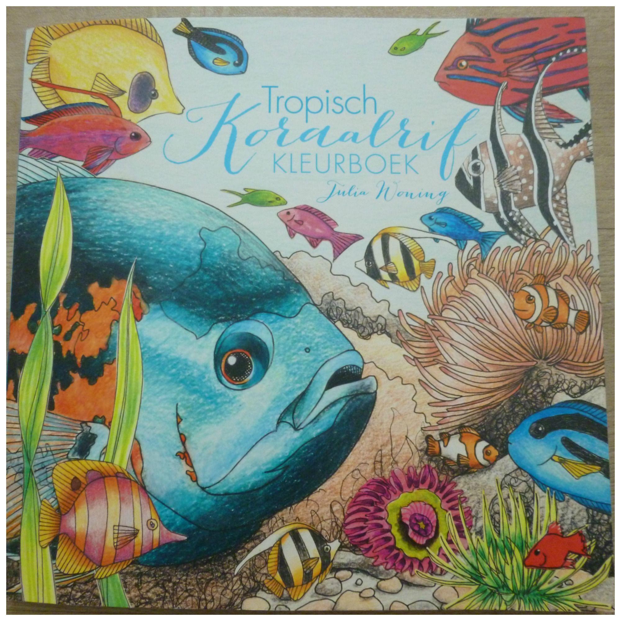 Tropisch Koraalrif Kleurboek Kleurboek Koraalrif Volwassen Kleurboeken