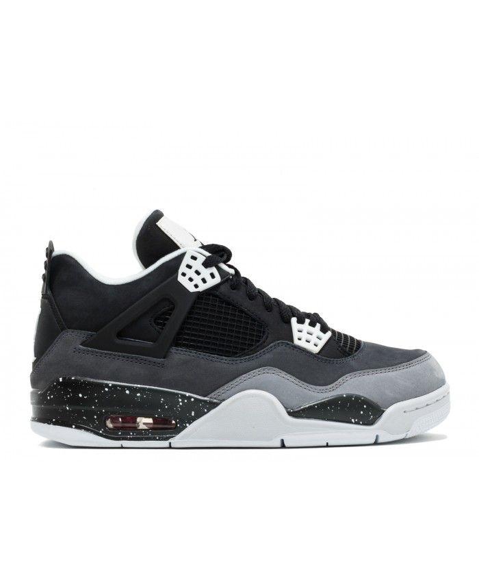 buy popular 69ee1 b1fbd ... promo code air jordan 4 retro fear pack black white cool grey pr pltnm 626969  030