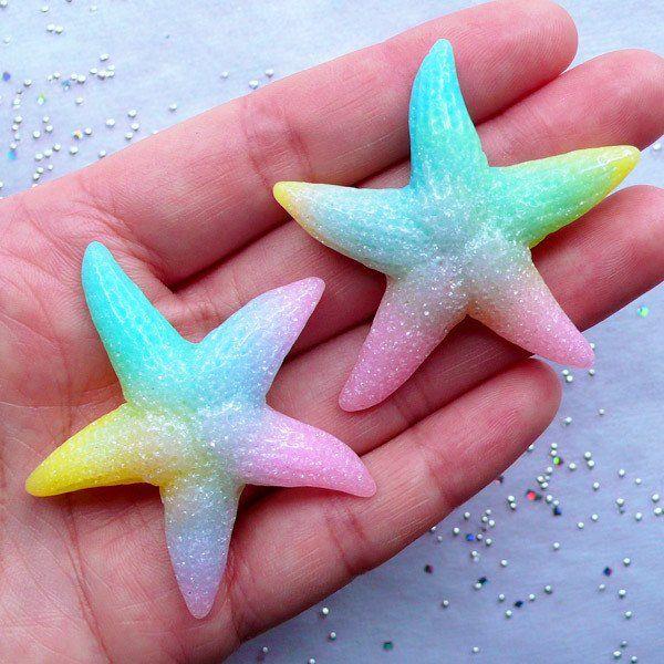 rainbow ornament starfish Rainbow wood rainbow rainbows pink rainbows rainbow love