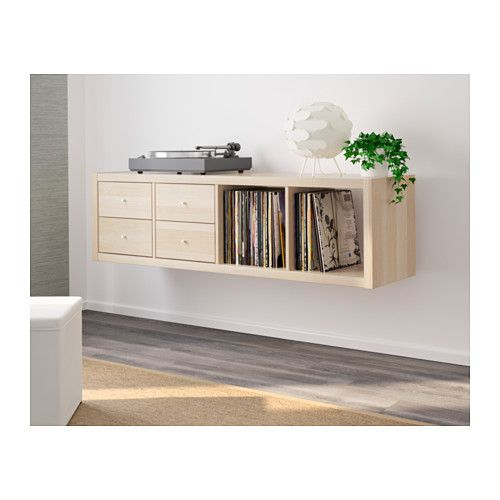 kallax shelving unit with 2 inserts ikea my new room pinterest kallax shelving unit. Black Bedroom Furniture Sets. Home Design Ideas