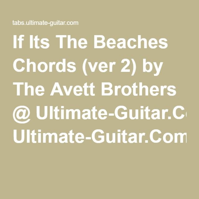 If Its The Beaches Barry Louis Polisar Avett Brothers How To Memorize Things