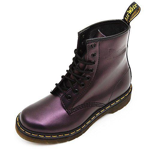 doc martens purple shimmer