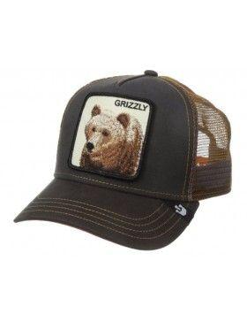901de3cd Goorin Bros. Grizz Trucker cap brown   My Style   Cap, Baseball hats ...