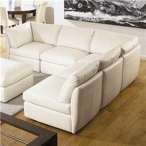 Natuzzi White L Shaped Sofa   Google Search