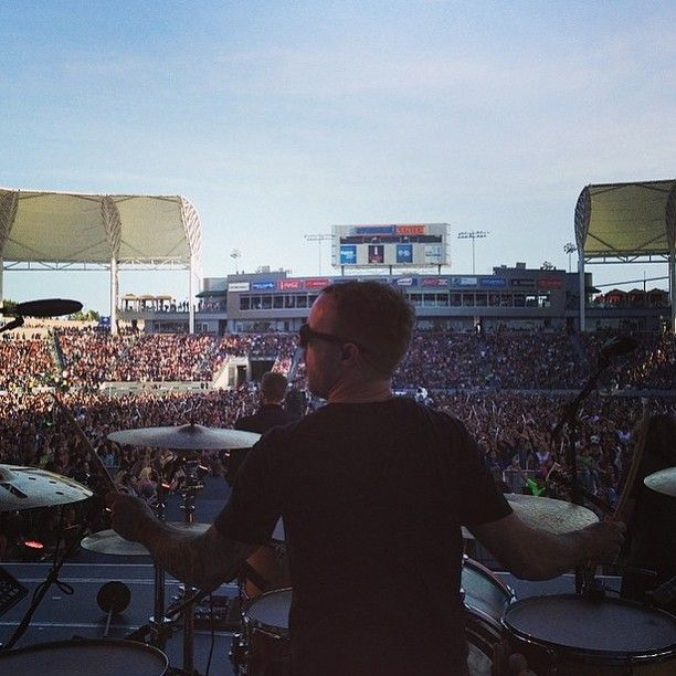 Fantastic photo with our King Of Drums!