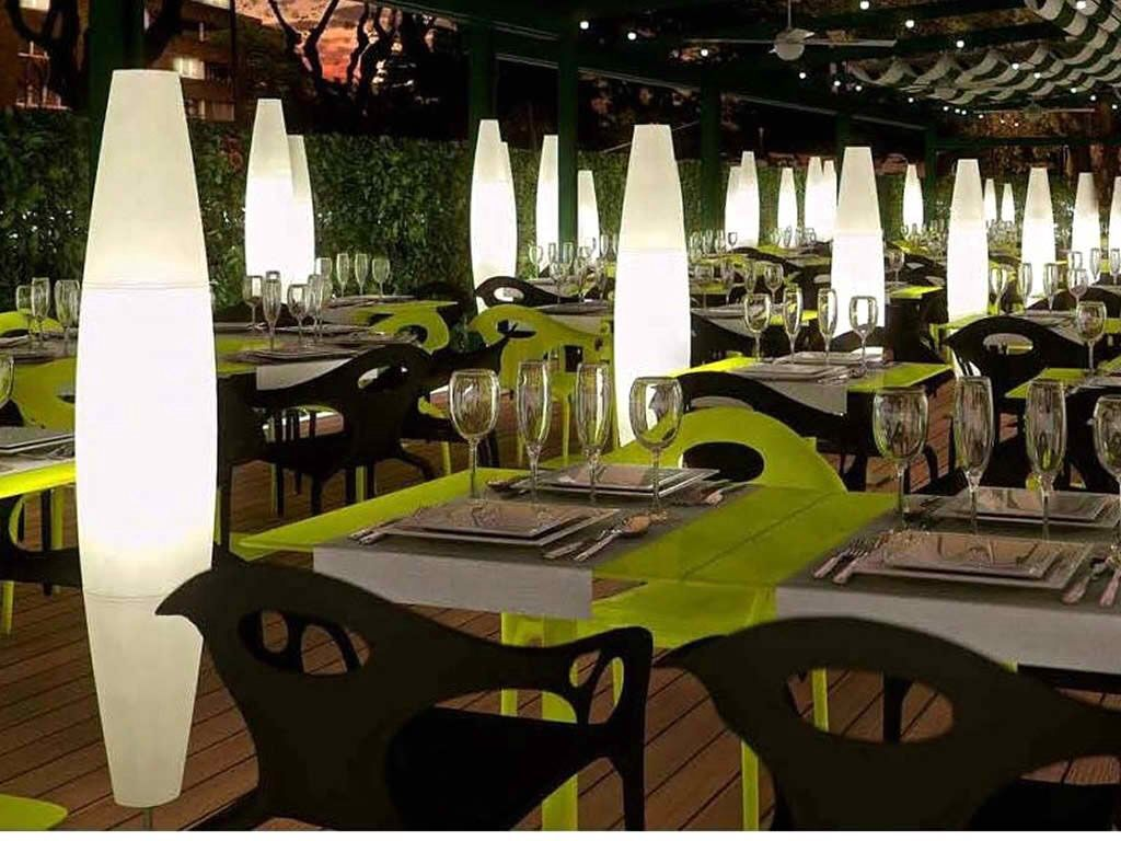 Outdoor Lighting Design Ideas bright ideas for outdoor lighting designs Modern Outdoor Restaurant Design