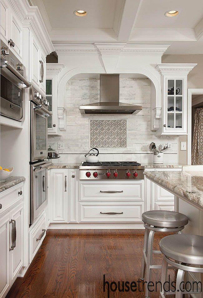 Trendy kitchen boasts Wolf appliances Home grown