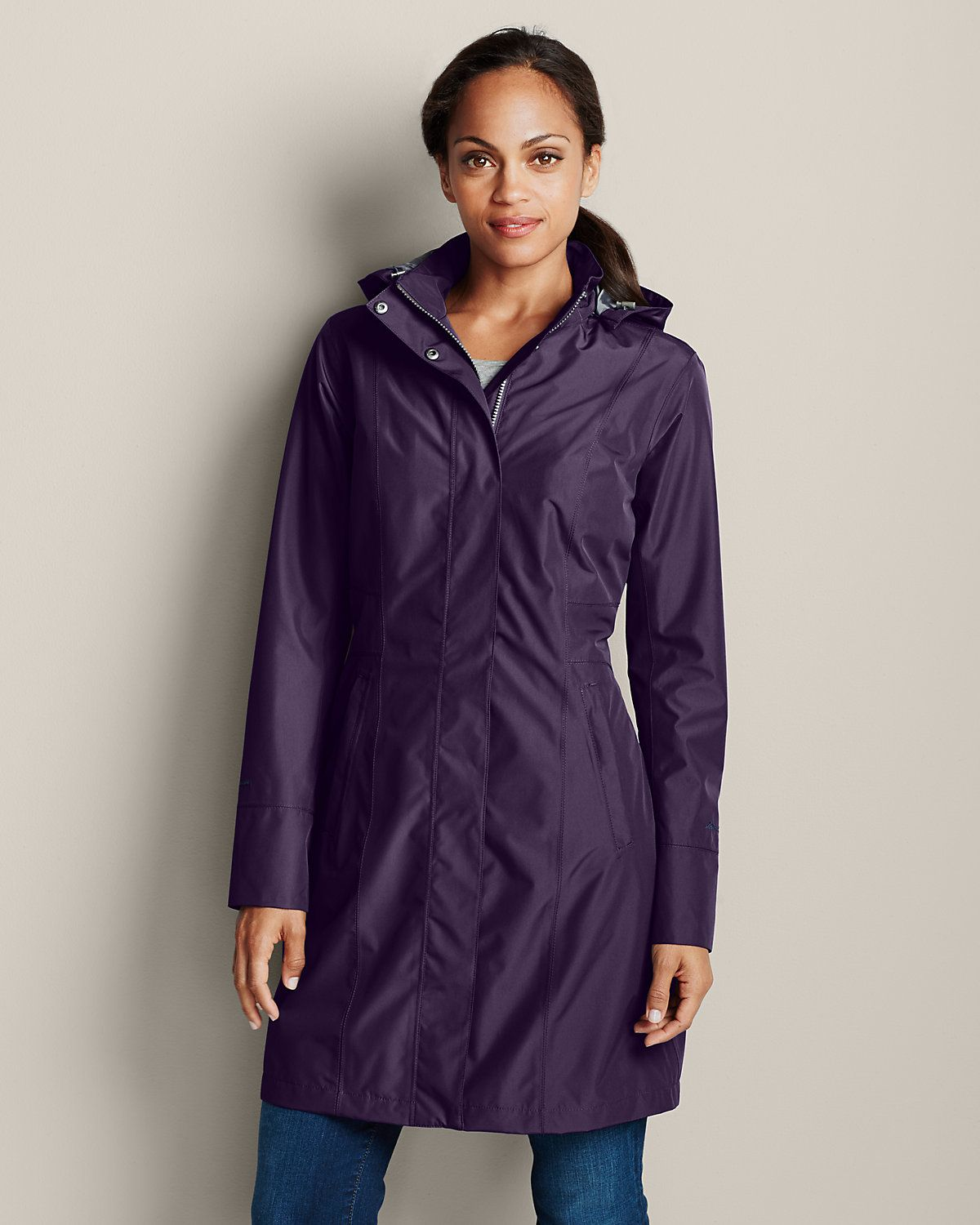 Girl On The Go® Trench Coat Eddie Bauer Trench coats