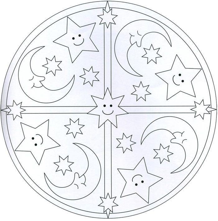 Mandalas Infantiles Para Colorear Mandalas Para Ninos Mandalas
