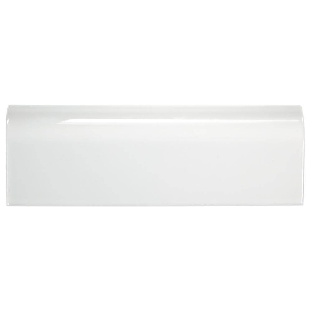 Ceramic Radius Bullnose Wall Trim Tile