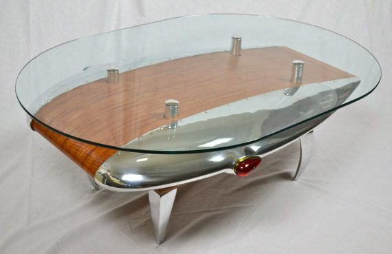 Wing Tip Coffee Table Available In 3 Different By Aeroantiques
