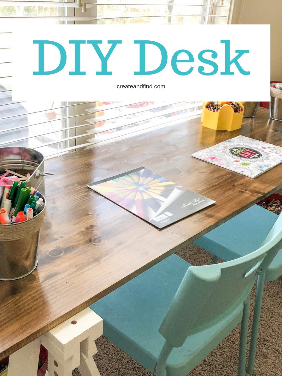 diy desk spring diy projects diy desk diy home decor diy projects rh pinterest com