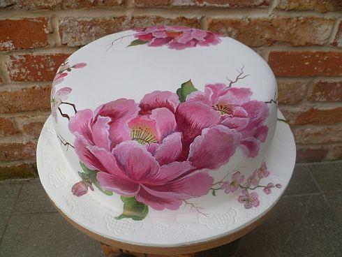 maľovaná na svadbu, Inšpirácie na originálne torty