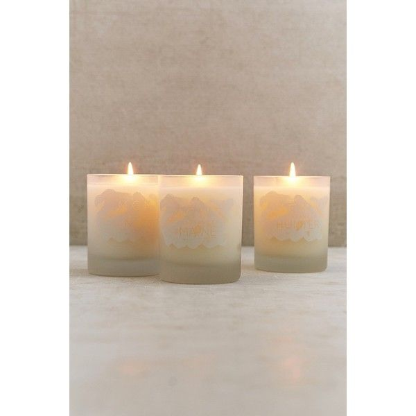 MCMC Fragrances Glass Candle ($48) via Polyvore featuring home, home decor, candles & candleholders, scented candles, fragrance candles, glass home decor and glass candle