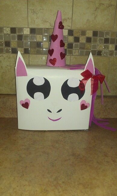 Super Cute Valentine Day Box Unicorn Fun Activities For The