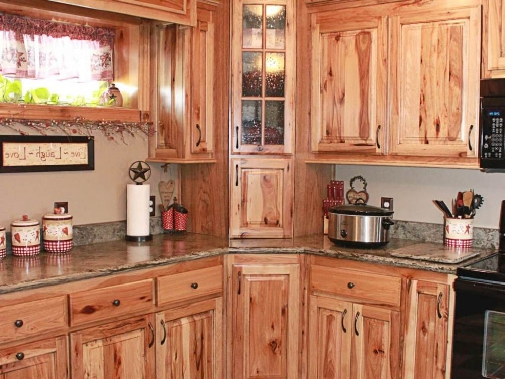 100 hickory kitchen cabinets ideas photos kitchen rh pinterest com