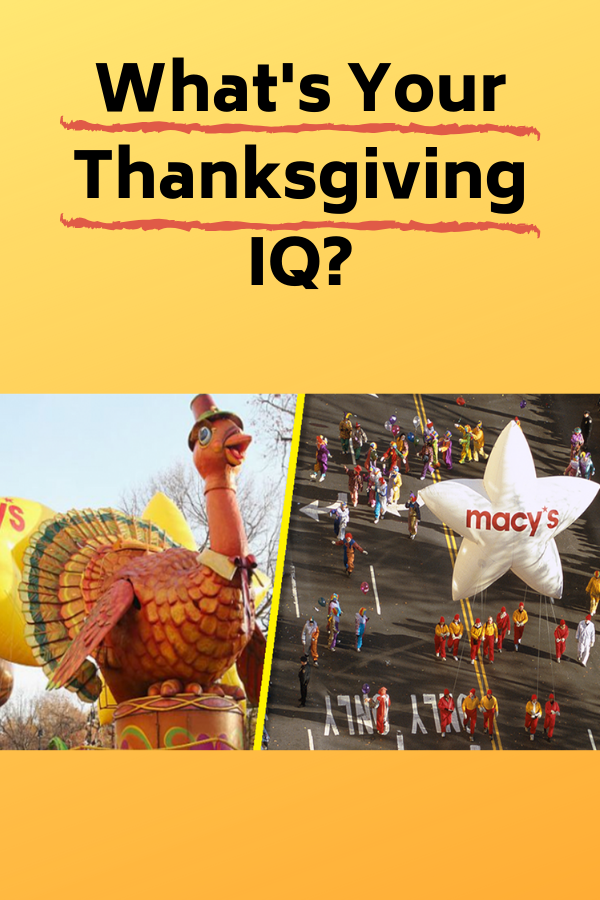 What's Your Thanksgiving IQ? Quiz