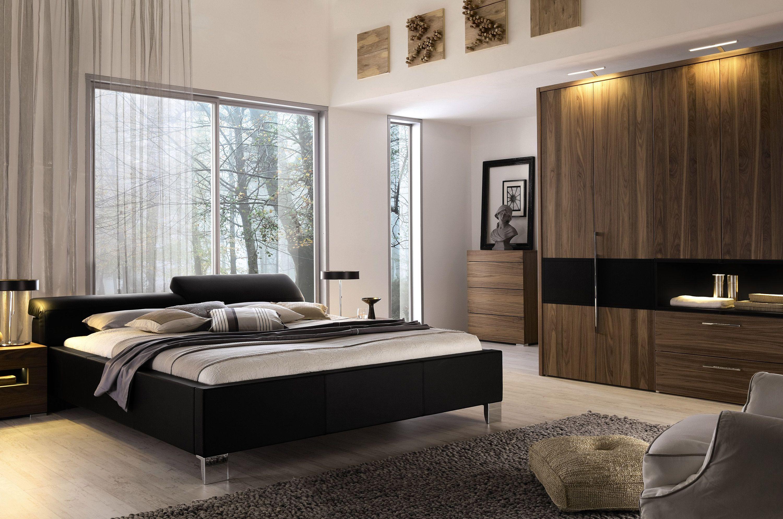 Huelsta Moebel Hulsta Furniture Elumo Ii Bett Bed Kernnussbaum