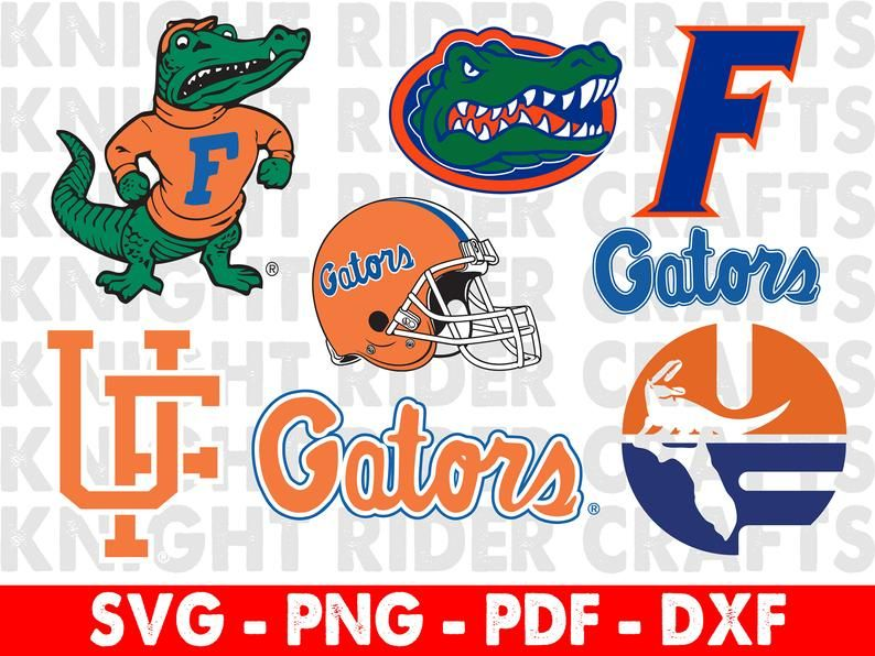 Fl Gators Florida Gator Head Logo Svg Fl Gators Png Vinyl Etsy Svg Gator Florida Gators