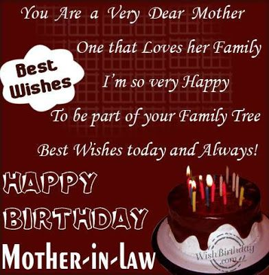 happy birthday greetings to my mother in law happy birthday wishes